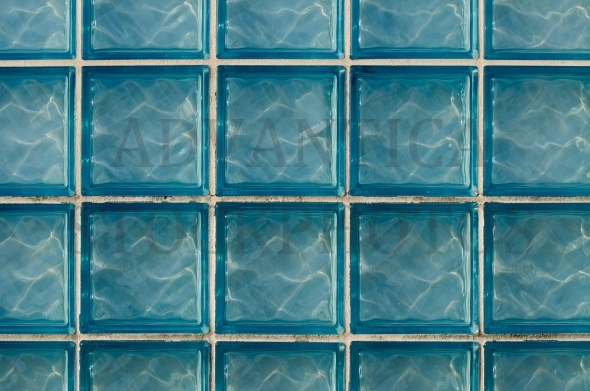 Glass block wall – pattern / background