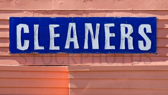 Cleaners Sign