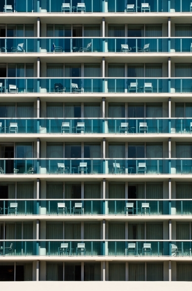 Apartment Balconies – pattern / background