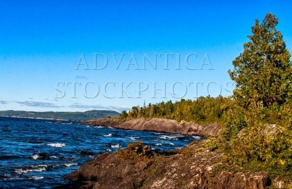 Rugged North shore of Lake Superior