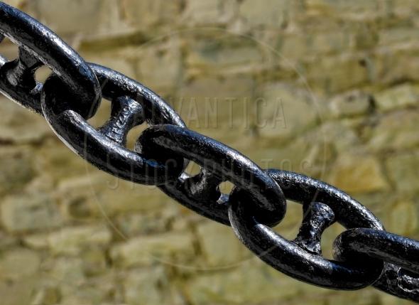 heavy black chain