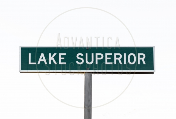 Lake Superior Sign