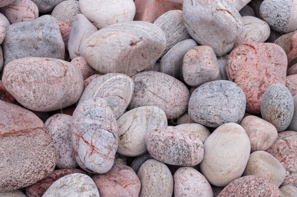 Pink Pebbles – background / pattern