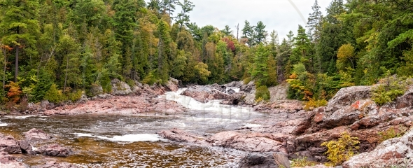 Chippewa Falls in northern Ontario, Canada
