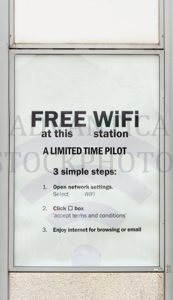 Sign for Free Wifi