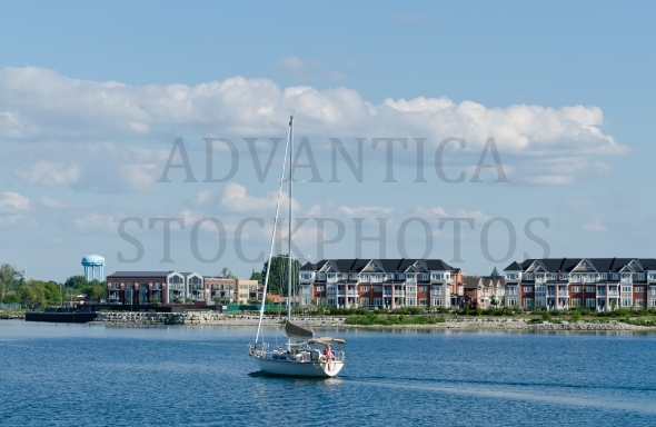 Sailboat in Collingwood, Ontario