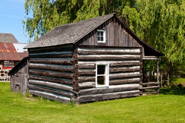 Old log home