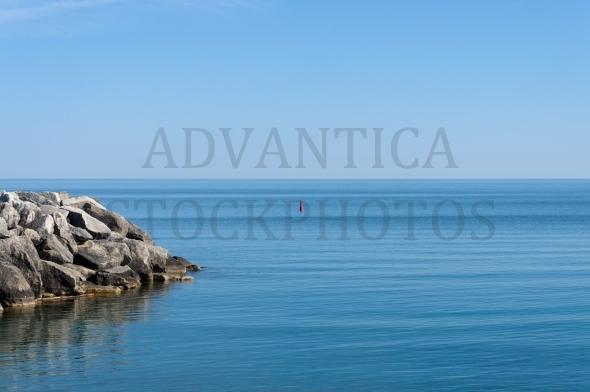 Georgian Bay – Rocks and red buoy