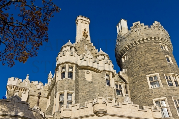 Historic Casa Loma Castle in Toronto