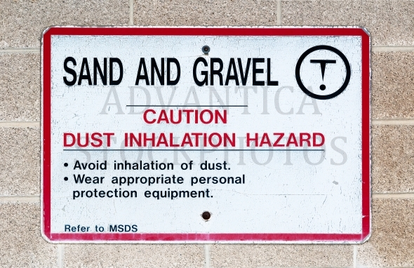 Sand and Gravel sign