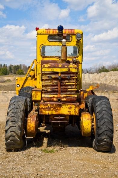 Vintage construction machine